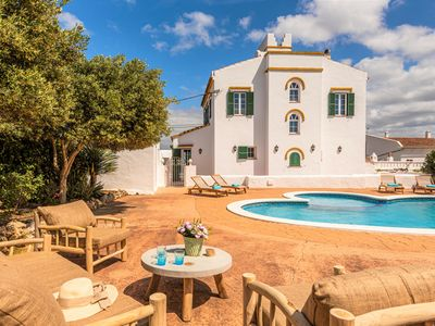 Photo for Finca Son Pere ❤ pure Menorca dream with private pool