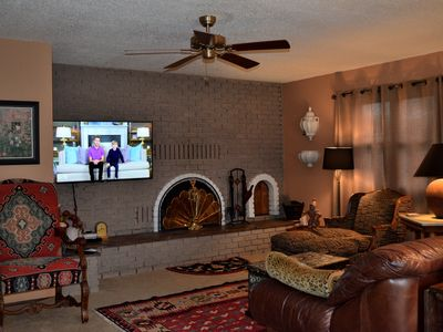 Photo for Roomy, comfortable  3 BR/2 BA Home, walk to Taos Plaza, AIR CONDITIONING