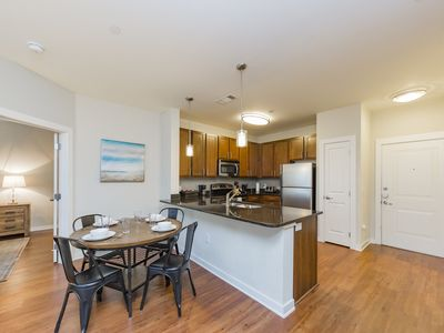 Photo for 2 Bedroom for 6 - Steps to The Gulch!