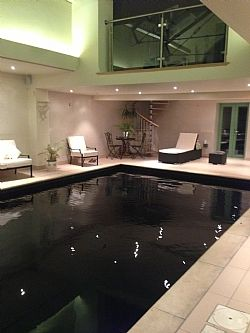 Private indoor pool  E8333: Luxury Spa area with Private Indoor Heated Pool In ...