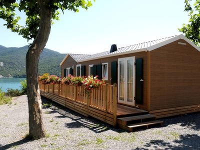 Photo for Very spacious and comfortable apartments at the beautiful Lake of Serre-Ponçon.