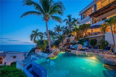 Pool and view of ocean