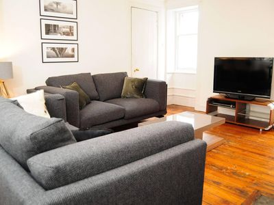 Photo for Beautiful Bohemian 2BR flat in the Cowgate