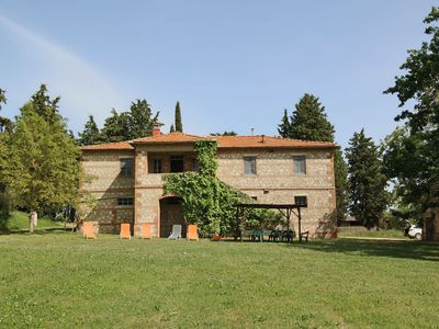 Photo for Rustic house on the estate with a castle, swimming pool, garden, private terrace