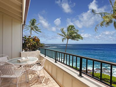 Photo for Whalers Cove #137: Best Oceanfront Views in Poipu!