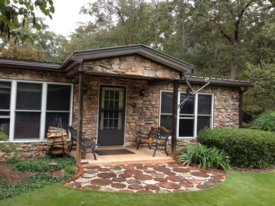 Photo for Charming  secluded, Lakefront home on Lake Hartwell