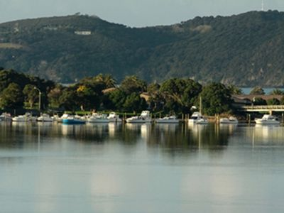 Photo for Treetops - Spectacular river and sea views