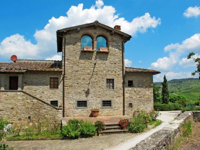 Photo for 4 bedroom Villa, sleeps 8 in Fattoria Montecchio with WiFi