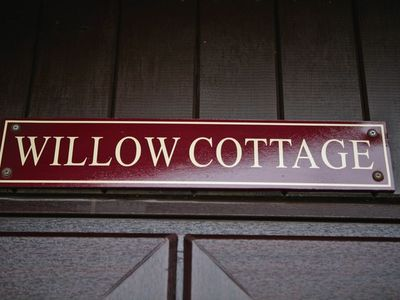Photo for Willow Cottage -  a quality wooden lodge that sleeps 2 guests  in 1 bedroom