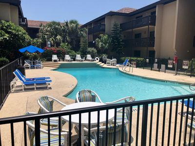 Other pool also heated in the winter. Both pools new furniture 2018.