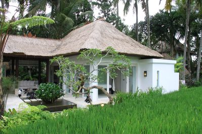 Rice field bedroom and terrace