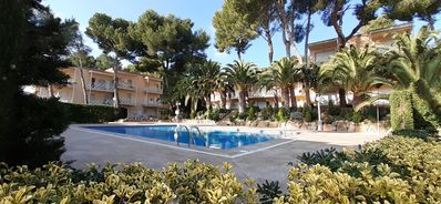 Photo for APARTMENT WITH TERRACE-SOLARIUM. SWIMMING POOL. NEXT TO THE SEVERA BEACHES