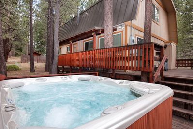 8 Person Hot Springs Grande Hot Tub
