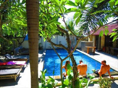 Photo for Rising Star Beach Resort- Triple room with priv bathroom and air con