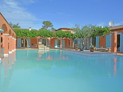 Photo for Superb 5 star estate with large pool in Provence, near the beaches of Sainte Maxime