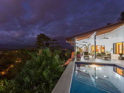 Photo for A 3 bedroom private piece of luxury living in the heart of Manuel Antonio