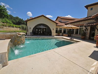 Magnificent Estate with heated pool, Across from Lake Austin