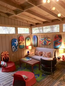 Photo for Welcome to The Dragonfly in Miller Beach, just a few blocks from Lake Michigan!