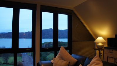 Photo for Private Executive Apartment With Large Garden and Loch Views