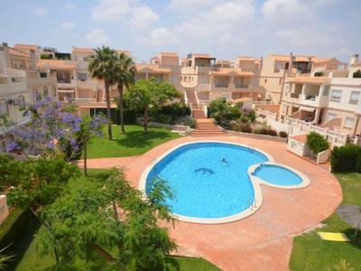 Photo for 2 bedroom Apartment, sleeps 4 in Santa Pola with Pool, Air Con and WiFi