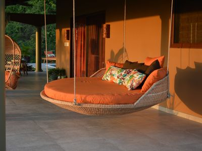 Photo for American comfort /Costa Rican Flair! Luxury home in the jungle with ocean views!