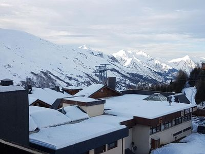 """Photo for apartment labeled """"3 gold snowflakes"""" valley view in Les Menuires Croisette district"""