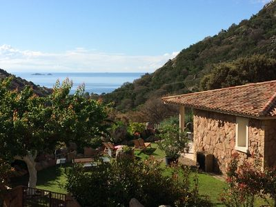 Photo for Villa in Palombaggia 800m away from the beach with 3 bedrooms and private area