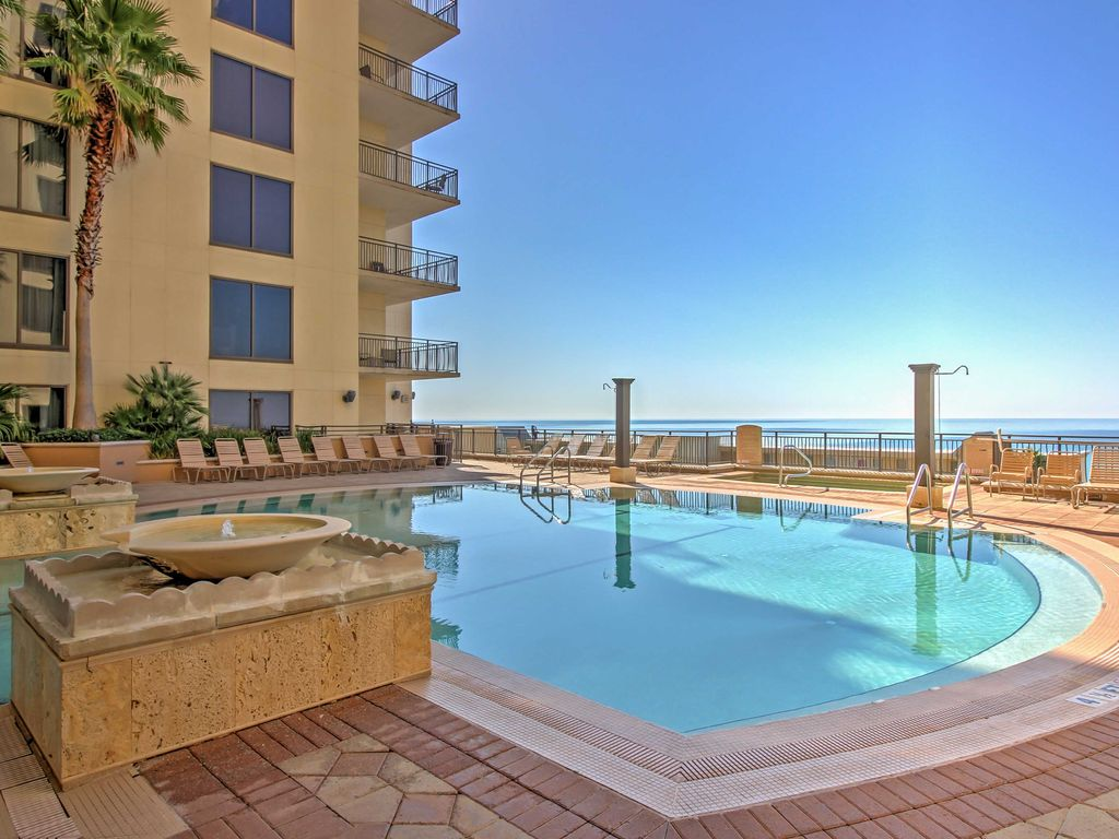 Bright 1br Panama City Beach Condo W Gulf Views Panama City Beach Florida Panhandle
