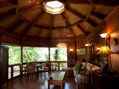 Photo for Private Handcrafted Cottage, Walk to Secluded Beach, Hot Tub, Tandem Kayak, WiFi