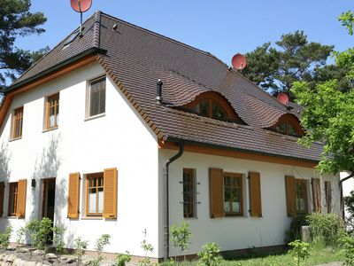 Photo for House Tannenwald / terrace / 200 meters to the beach / quiet garden location