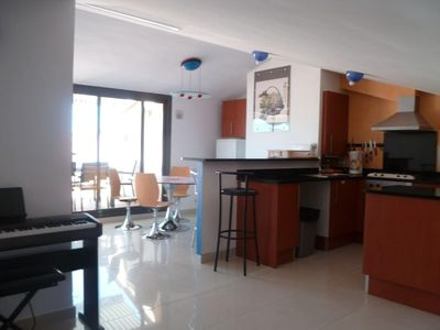 Photo for Very nice duplex apartment in Roses / beach