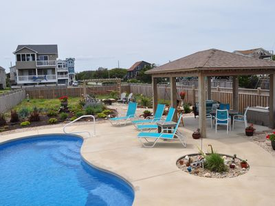 Photo for Ocean View, Private Saltwater Pool, Direct beach access,  sleeps 12, new!