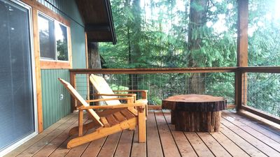 Photo for Charming A-Frame Cabin With Spectacular Cascade Mountain Views!!!