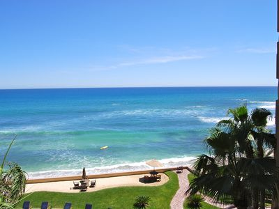 Photo for Beachfront 2 BR Condo with Endless Ocean View - Free Wifi