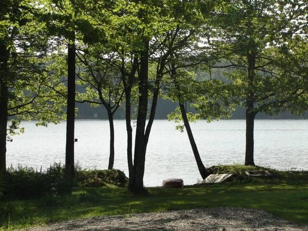 Waterfront Lake House On Biscay Pond Ideal Location