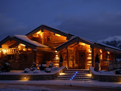 "Photo for Luxury chalet ""Le Lodge des Sens"" (Pyrenees) - 12 people"