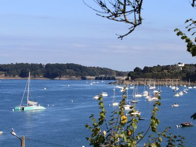 Photo for Dinard, apartment with garden 100m from the beaches and the Thalasso