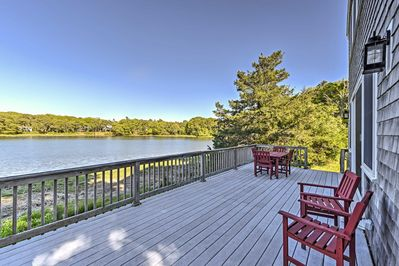 Elevate your Cape Cod experience with this updated Bourne vacation rental home!