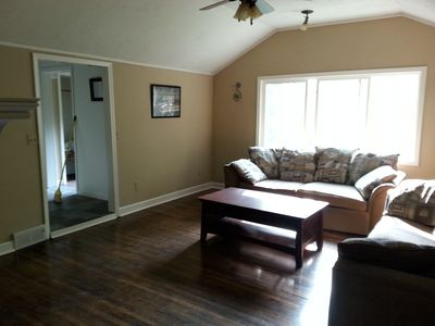 Photo for 5 Bedroom, 1.5 Bath, Private Setting, Walk To The Beach & Minutes to Grand Haven