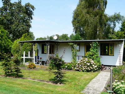 Photo for Authentically furnished chalet near the Nieuwkoopse Plassen