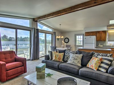 Photo for NEW-Spacious Fenwick Island Home w/Canalfront Deck