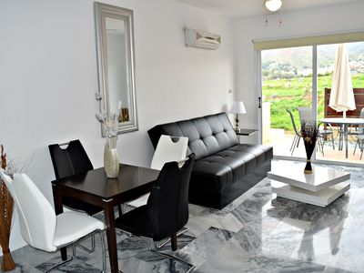 Photo for Lovely Apartment - Heated Jacuzzi - Large Communal Infinity Pool - Wifi Internet