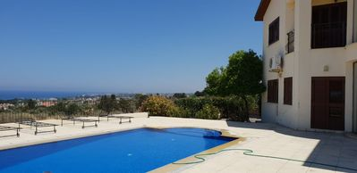 Photo for 4 Bedroom, Private Pool, Villa with beautiful Sea View.