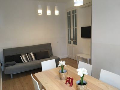 Photo for New apartment, 6 pers, free WiFi, Sagrada Familia