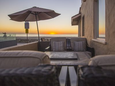 Photo for Ocean Front Family Beach House, just steps from the sand!