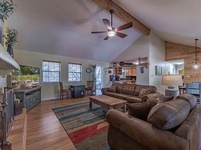 Photo for Tomahawk Hill Chalet: ADORABLE, 2 Bedrooms with a Hot Tub AND a Video Game Table!