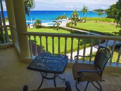 Photo for 2BR /2.5 BA Luxury Oceanfront Condo @ Hispaniola Beach, FREE Maid Service, Gated