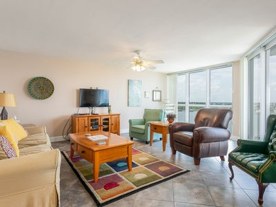 Photo for SeaSpray Perdido Key Unit No. 813 - Beautiful River Side 2 Bed/2 Bath condo overlooking Ol' River