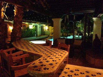 Photo for Old World Spanish Hacienda in the Movie Colony Palm Springs