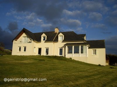 Photo for Large house with beautiful sea view for your holidays in Brittany